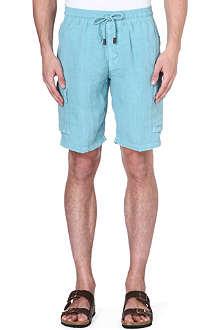 VILEBREQUIN Linen bermuda shorts