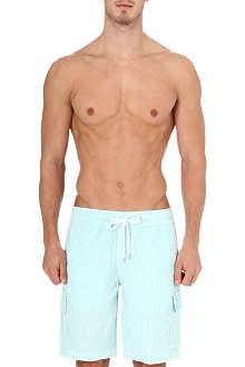VILEBREQUIN Berrix striped linen swim shorts