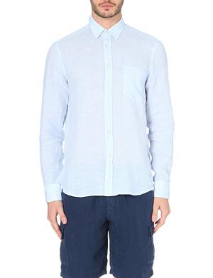 VILEBREQUIN Carrix linen shirt