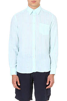 VILEBREQUIN Striped linen shirt