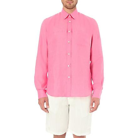 VILEBREQUIN Linen shirt (Pink
