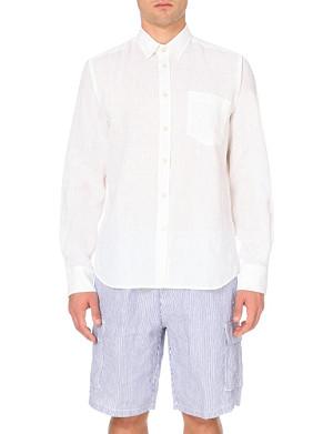 VILEBREQUIN Caroubier linen shirt