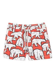 VILEBREQUIN Polar bear swimming shorts 2-6 years