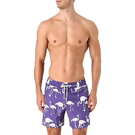 VILEBREQUIN Flamingo Mahina swim shorts (Purple
