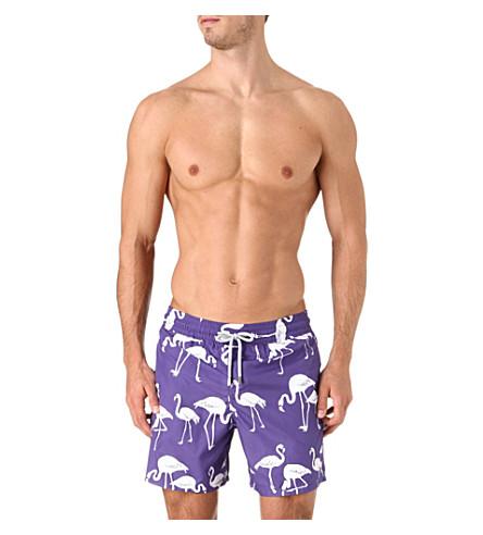 VILEBREQUIN Flamingo Mahina swim shorts (Purple
