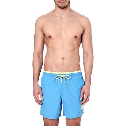 VILEBREQUIN Duo-tone swim shorts (Blue