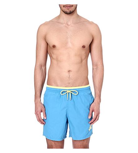 VILEBREQUIN Duo-tone swim shorts (Blue