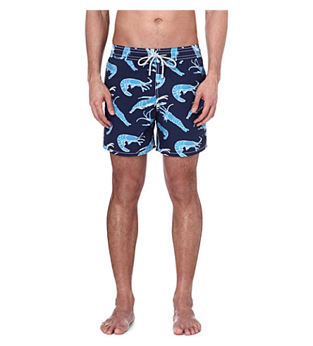 VILEBREQUIN Moorea shrimp swim shorts (Navy