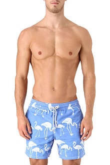 VILEBREQUIN Moorea flamingo swim shorts
