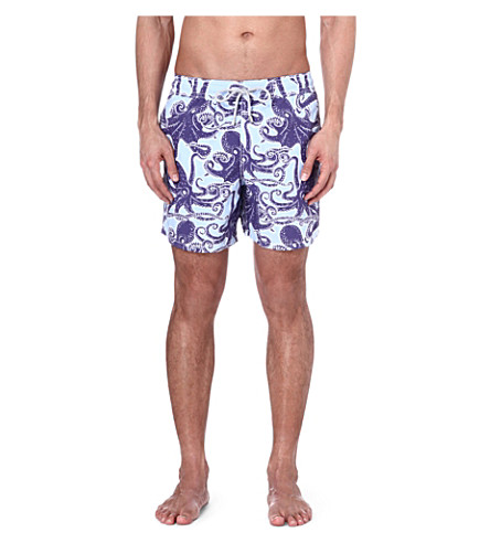 VILEBREQUIN Moora Octopus swim shorts (Blue