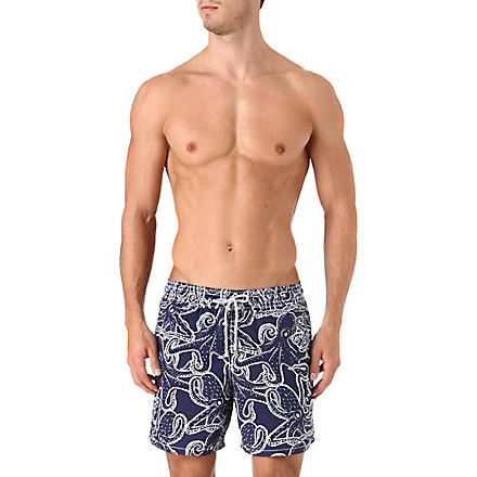 VILEBREQUIN Moorea octopus swim shorts (Navy