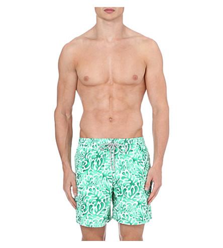 VILEBREQUIN Moorea Les Algues swim shorts (Green