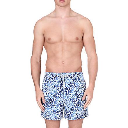 VILEBREQUIN Moorea Les Algues swim shorts (Navy
