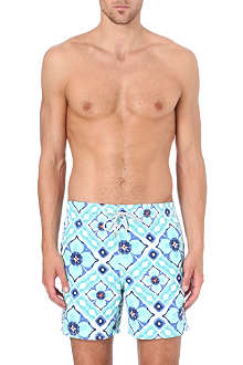 VILEBREQUIN Moorea mosaic swim shorts