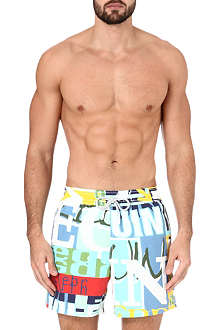VILEBREQUIN Graffiti-print swimming shorts