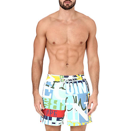VILEBREQUIN Graffiti-print swimming shorts (Multi