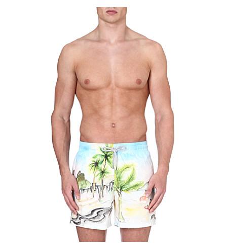 VILEBREQUIN Moorea Baie de Rio swim shorts (Multi