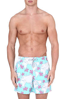 VILEBREQUIN Moorea World Map swim shorts