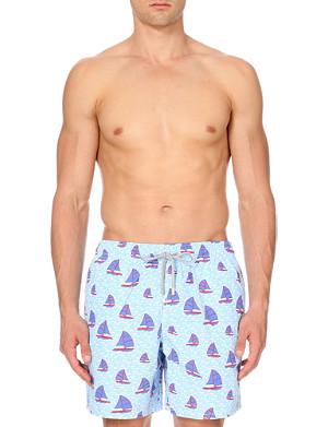 VILEBREQUIN Moorea boat-print swim shorts