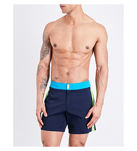 VILEBREQUIN Merle swim shorts (Navy blue