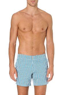VILEBREQUIN Merise micro-gingham swim shorts