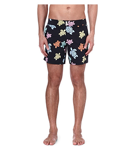 VILEBREQUIN Merise Turtle swim shorts (Black