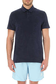 VILEBREQUIN Towelling polo shirt