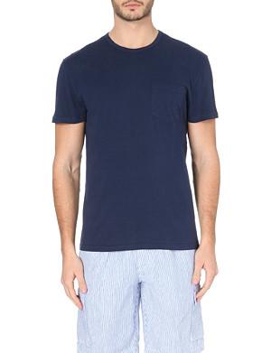 VILEBREQUIN Crew-neck cotton-jersey t-shirt