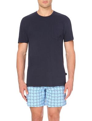 VILEBREQUIN Teepo cotton-jersey pocket t-shirt