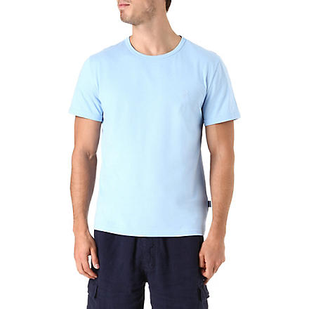 VILEBREQUIN Tribord crew-neck t-shirt (Blue