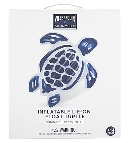 VILEBREQUIN Large inflatable lie-on turtle float (Blue