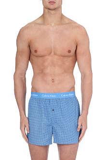 CALVIN KLEIN Geometric-print boxer shorts
