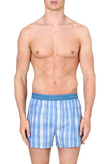CALVIN KLEIN Striped logo boxer shorts