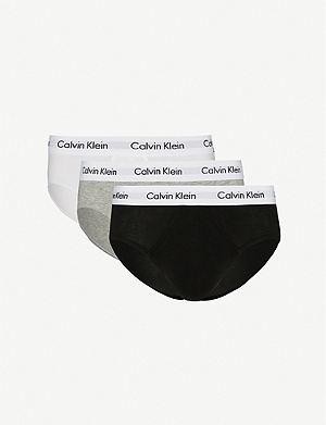 CALVIN KLEIN Stretch-cotton briefs