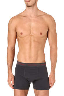 CALVIN KLEIN Three pack stretch-cotton trunks
