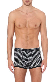 CALVIN KLEIN Box print trunks