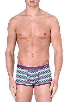 CALVIN KLEIN Micro block low-rise trunks