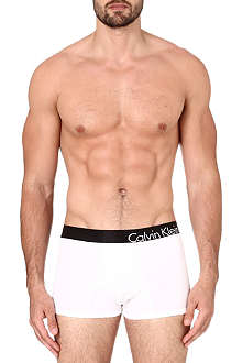 CALVIN KLEIN Stretch-cotton logo trunks