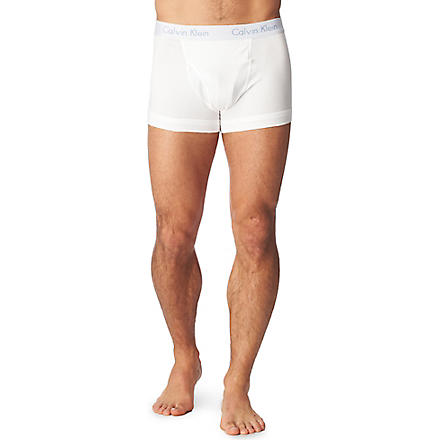 CALVIN KLEIN Flexi trunks (White