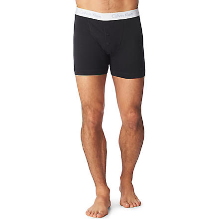 CALVIN KLEIN Flexi boxer briefs (Black