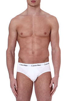 CALVIN KLEIN Three pack contrasting waistband briefs