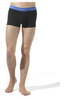 CALVIN KLEIN Three pack low–rise trunks
