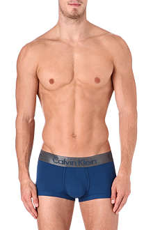 CALVIN KLEIN Nickel plain micro trunks