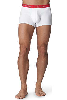 CALVIN KLEIN Two pack Pro Stretch cotton trunks