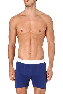 CALVIN KLEIN Button-fly long trunks