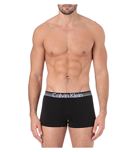 CALVIN KLEIN Concept trunks (Black