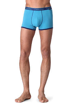 CALVIN KLEIN Contrast stretch-cotton trunks