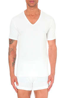 CALVIN KLEIN Pack of two v–neck t–shirts