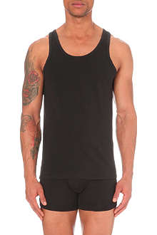 CALVIN KLEIN Two pack crew–neck vests