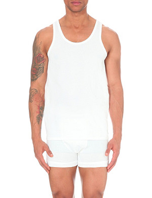 CALVIN KLEIN Two pack crew-neck vests